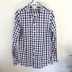 Express extra slim fit button down shirt